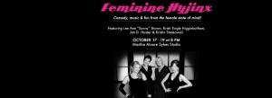 TKAM program - Feminine Hyjinx half page