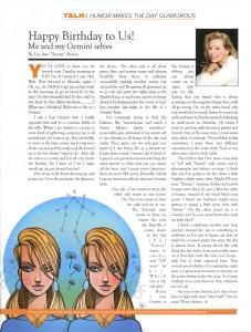 June B-Metro Magazine Column